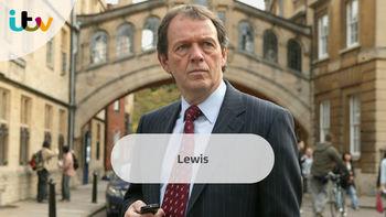 Netflix box art for Inspector Lewis - Series 1