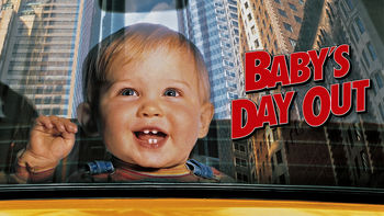 Netflix box art for Baby's Day Out