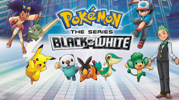Netflix box art for Pokémon: Black & White - Season 1