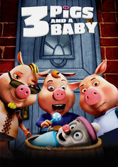 Unstable Fables: 3 Pigs and a Baby - The Voices of 3 Pigs and a Baby