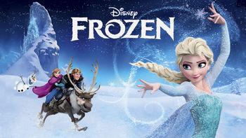 Netflix box art for Frozen