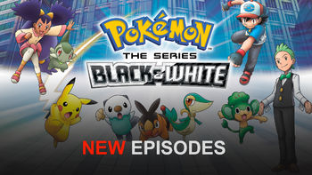 Netflix Box Art for Pokémon: Black & White - Season Pokémon: BW Adventures in Unova and Beyond