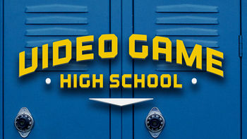 Netflix box art for Video Game High School - Season 1