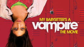 Netflix box art for My Babysitter's a Vampire