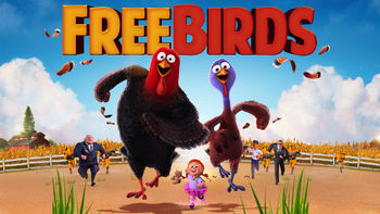 Netflix box art for Free Birds