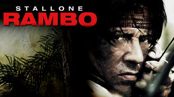 Netflix box art for Rambo