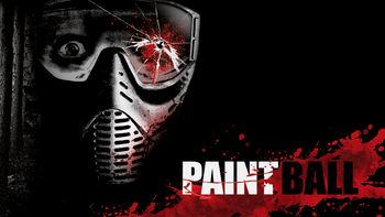 Netflix box art for Paintball