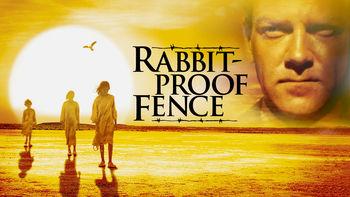 Netflix box art for Rabbit-Proof Fence