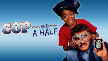 Netflix box art for Cop and a Half