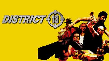 Netflix box art for District 13