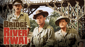 Netflix box art for The Bridge on the River Kwai