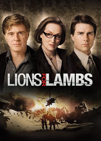 Lions for Lambs Netflix UK (United Kingdom)