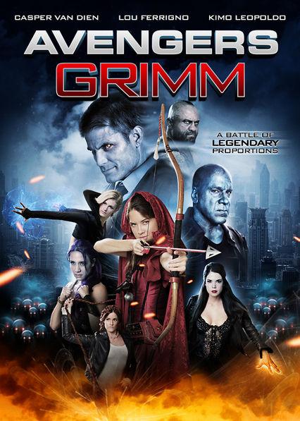 Avengers Grimm Netflix PR (Puerto Rico)