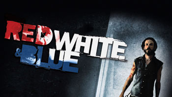 Netflix box art for Red White & Blue
