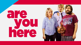 Netflix box art for Are You Here