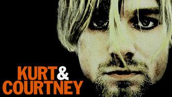 Netflix box art for Kurt & Courtney