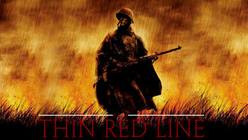 Netflix box art for The Thin Red Line