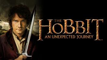 Netflix box art for The Hobbit: An Unexpected Journey