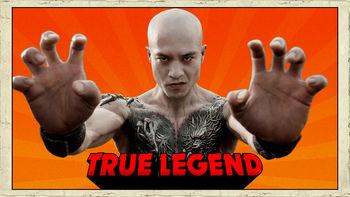 Netflix box art for True Legend