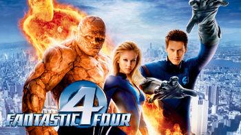 Netflix box art for Fantastic Four
