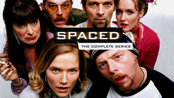 Netflix box art for Spaced - Series 2