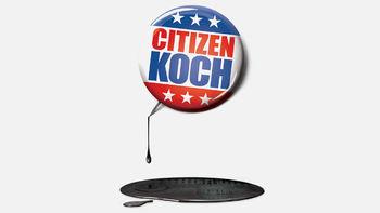 Netflix box art for Citizen Koch