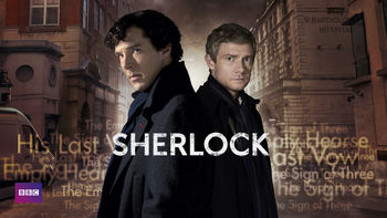 Netflix box art for Sherlock - Series 3