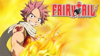 Netflix box art for Fairy Tail - Season 1