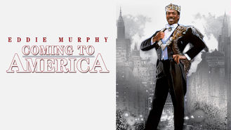 Netflix box art for Coming to America