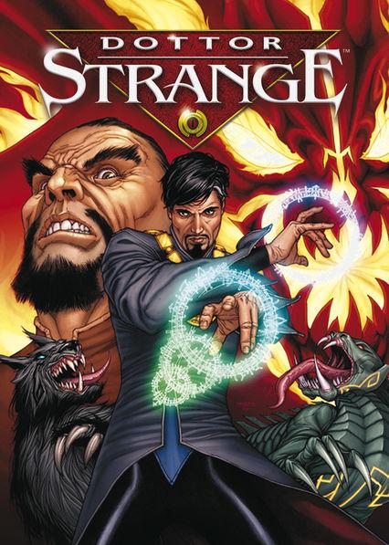 Doctor Strange Netflix AU (Australia)