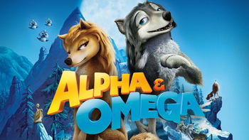 Netflix box art for Alpha and Omega