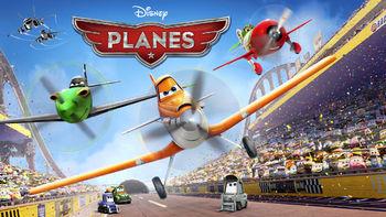 Netflix box art for Planes