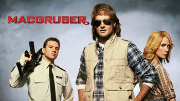 Netflix box art for MacGruber