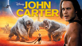 Netflix box art for John Carter