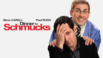 Netflix box art for Dinner for Schmucks