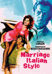 Marriage Italian Style Poster