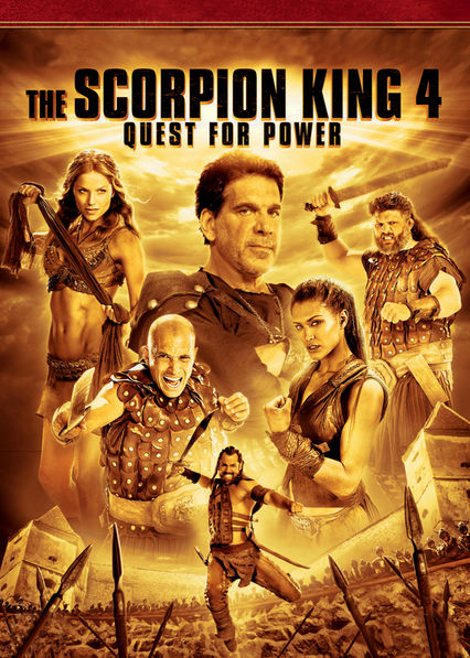 Scorpion King 4: Quest for Power Netflix AR (Argentina)