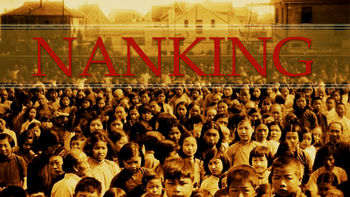 Netflix box art for Nanking