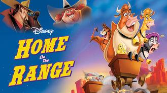 Netflix box art for Home on the Range