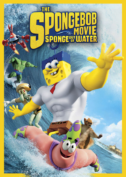 The SpongeBob Movie: Sponge Out of Water Netflix CL (Chile)