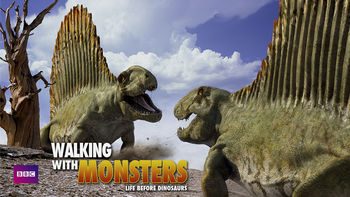 Netflix box art for Walking with Monsters: Life Before Dinos - Season 1