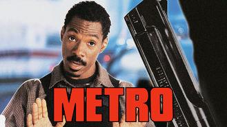 Netflix box art for Metro
