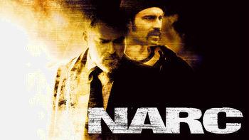 Netflix box art for Narc