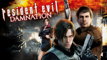 Netflix box art for Resident Evil: Damnation