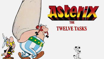 Netflix box art for Asterix: The 12 Tasks
