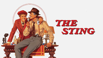 Netflix box art for The Sting