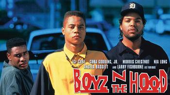 Netflix box art for Boyz n the Hood