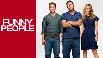 Netflix box art for Funny People