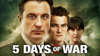 Netflix box art for 5 Days of War