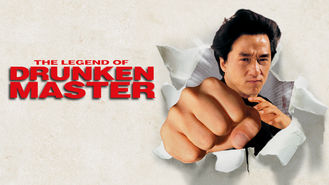 Netflix box art for The Legend of Drunken Master